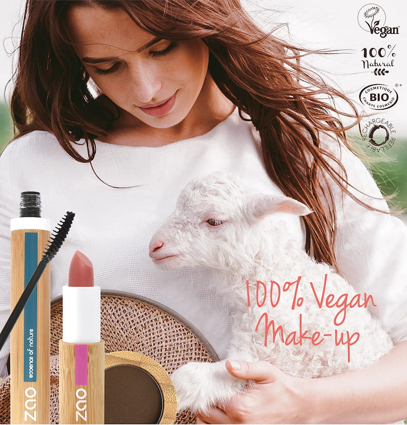 ZAO 100% Vegan make-up